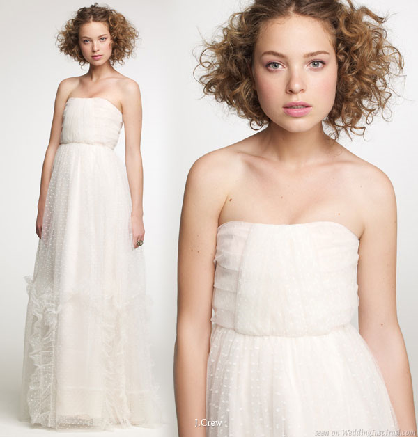 Trendy wedding gowns for Brides: Polka-Dotted Wedding Dresses ...