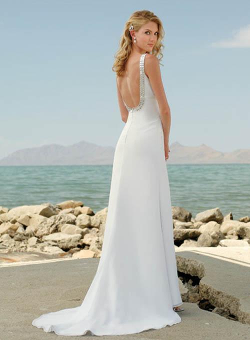 Beach Wedding Dresses – Consider This - Lucky Dresses\' Blog, Wedding ...